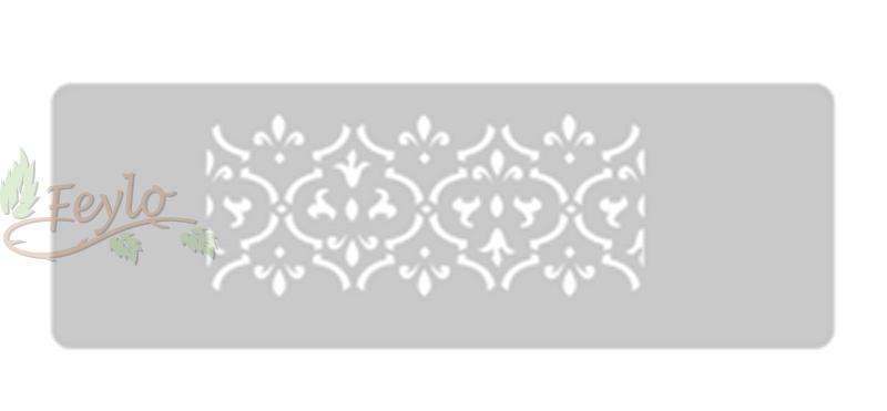 Stencil Eq Grande 13.5 X 30 Cm 42 - Empapelado