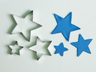 Cortante Eq Estrellas X 3 (4/6/8 Cm)