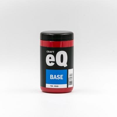 Base Acrilica Eq  X 400 Cc Rojo