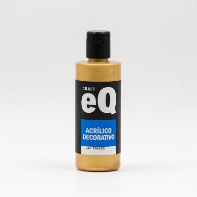Acrilico Eq Dorado Metalico X 150 Cc