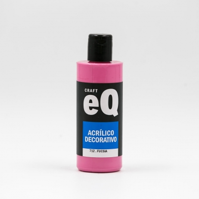Acrilicos Decorativos Eq X 150 Cc Fucsia