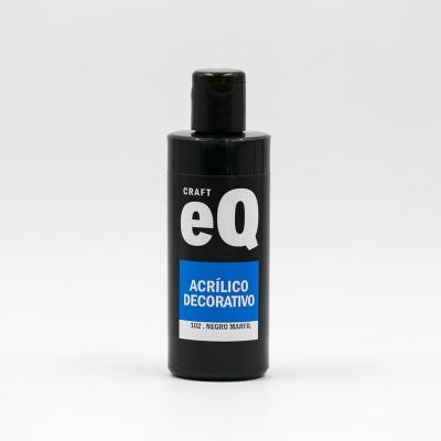 Acrilicos Decorativos Eq X 150 Cc Negro