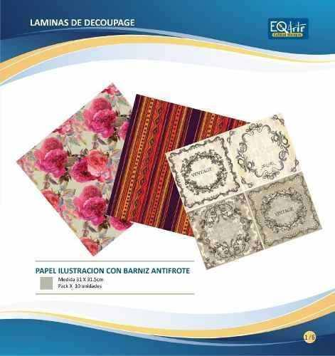 Laminas 30x30 Eq Arte