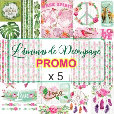 Promo Laminas Eq Arte X 5