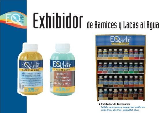 Exhibidor Barnices Y Lacas Eq Arte