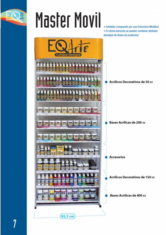 Exhibidor Master Eq Arte (12 Bandejas Combinables)