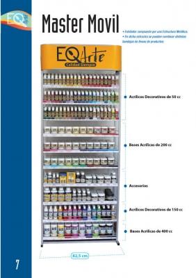 Exhibidor Master Eq Arte (10 Bandejas Combinables)