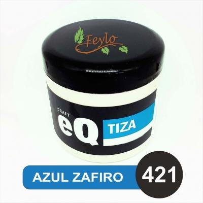 Pintura A La Tiza Eq Arte X 200cc Azul Zafiro