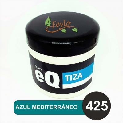 Pintura A La Tiza Eq Arte X 200cc Azul Mediterraneo