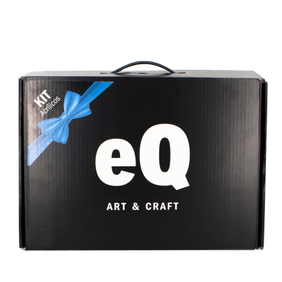 Kit De Regalo Acrilicos Eq Arte