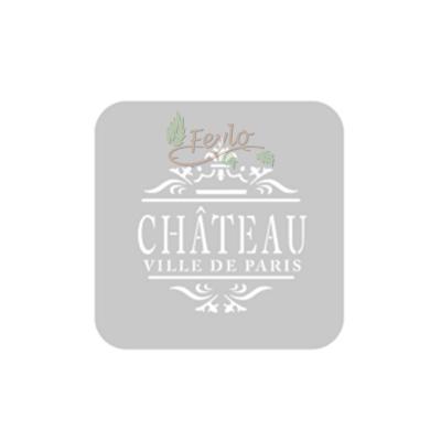 Stencil Eq 10 X 10 Cm 827 - Chateau