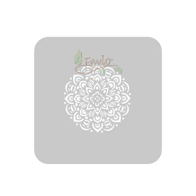 Stencil Eq 15 X 15 Cm 930 - Flor Mandala