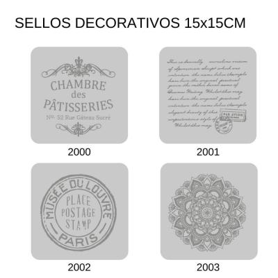 Sellos Eq Craft 15x15