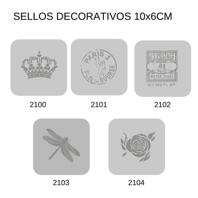 Sellos Eq Craft 6x6