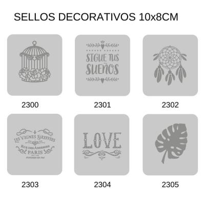 Sellos Eq Craft 10x7