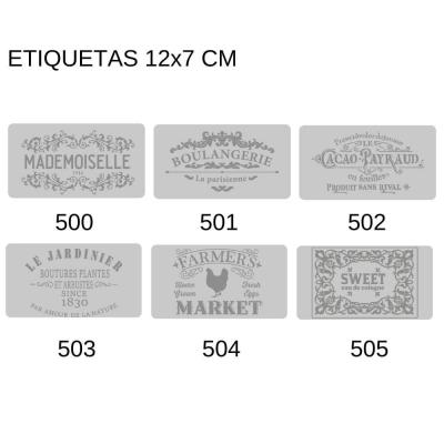 Sellos Eq Craft Bajo Relieve 12x7