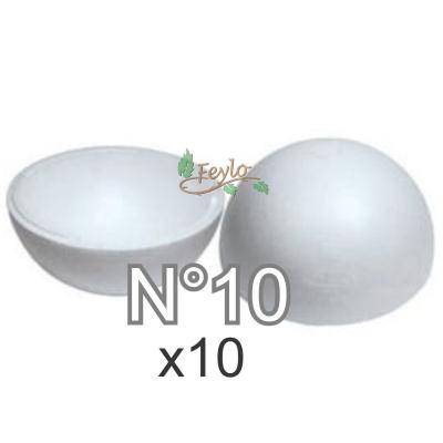 Esferas De Telgopor Hueca Nº10 X 10