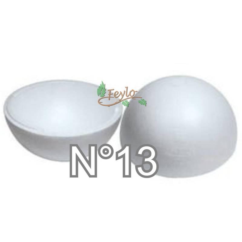 Esferas De Telgopor Hueca Nº13 X 1
