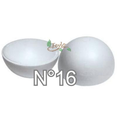 Esferas De Telgopor Hueca Nº16 X 1