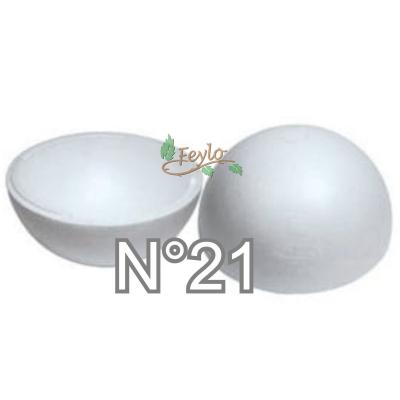 Esferas De Telgopor Hueca Nº21 X 1