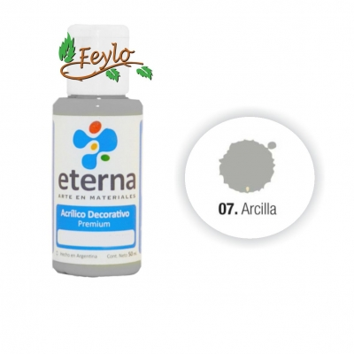 Eterna Acril.dec. Arcilla           50ml