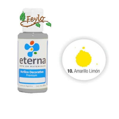Eterna Acril.dec. Amarillo Limón    50ml