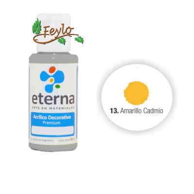 Eterna Acril.dec. Amarillo Cadmio   50ml