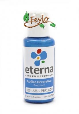 Eterna Acril.dec. Azul Perlado      50ml