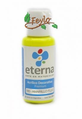 Eterna Acril.dec. Fluo Amarillo     50ml