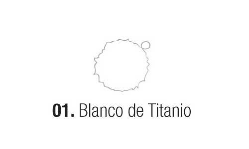 Eterna Acril.est.blanco De Titanio 180ml