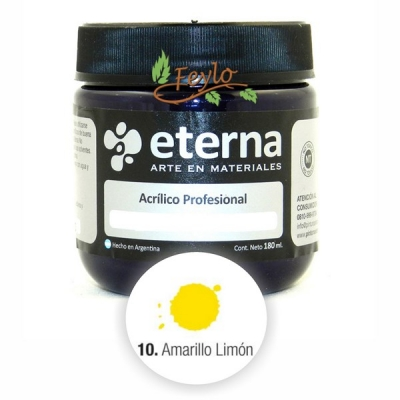 Eterna Acril.est.amarillo Limon    180ml