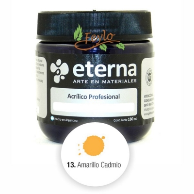 Eterna Acril.est.amarillo Cadmio(i)180ml