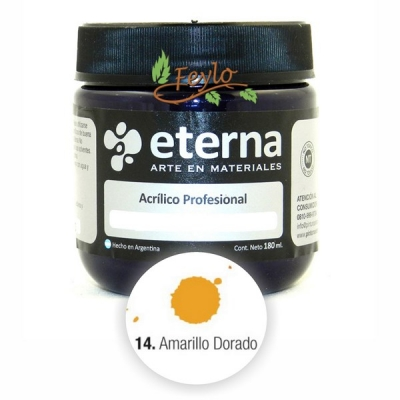 Eterna Acril.est.amarillo Dorado   180ml