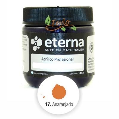 Eterna Acril.est.naranja           180ml