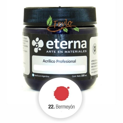 Eterna Acril.est.bermellon         180ml