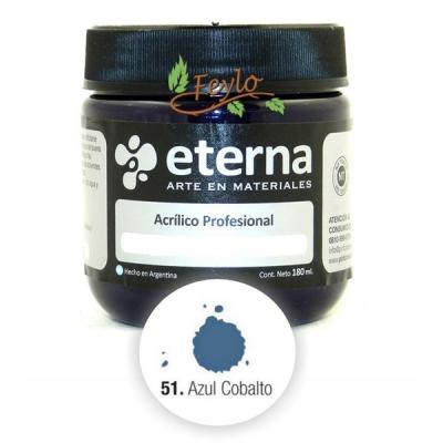 Eterna Acril.est.azul Cobalto(i)   180ml