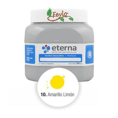 Acrilico Est. Amarillo Limon      700ml.