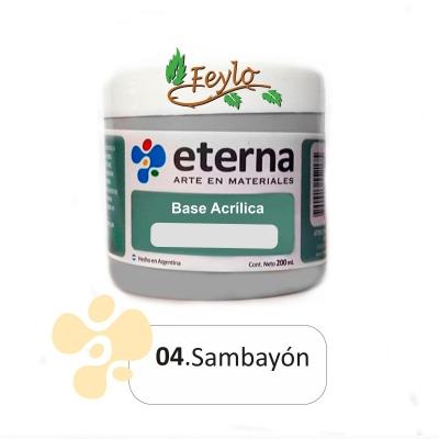 Base Acrilica  Eterna  Sambayon            200ml.