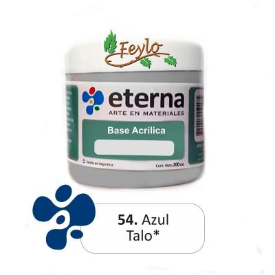Base Acrilica  Eterna Azul Talo           200ml.