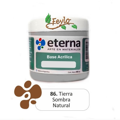 Base Acrilica  Eterna Sombra Natural      200ml.