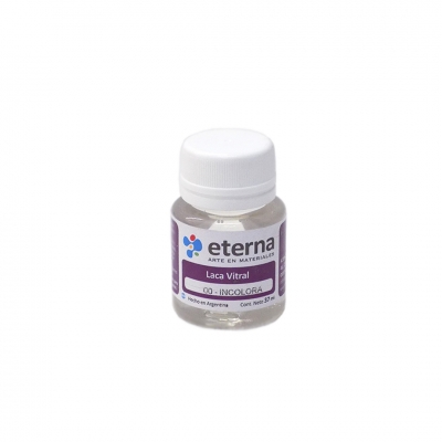 Eterna Laca Vitral Incolora X 30 Ml