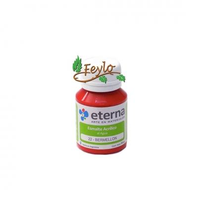 Esmalte Acrilico Bermellon          50ml