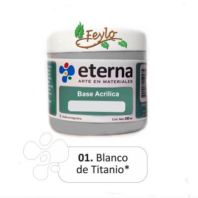 Base Acrilica  Eterna Blanca  200ml.