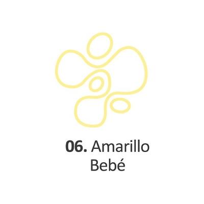 Pintura Dimensional Amarillo Bebe  40ml.