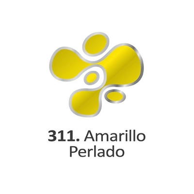 Pintura Dimensional Amarillo Perlado  40ml.