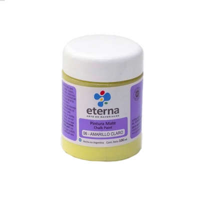 Pintura Mate Amarillo Claroá 100ml