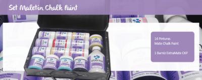 Set Regalo Maletin Chalk Paint Eterna