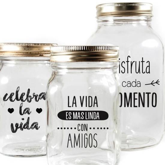 Etiquetas Para Frascos Transparentes