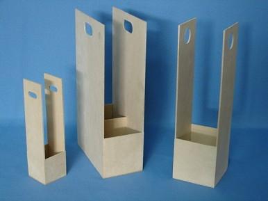 Caja De Vino Eco Doble 17x10x36