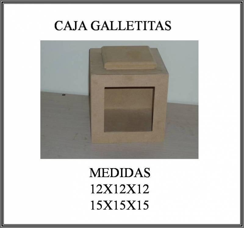 Caja Galletitas Wz 10x10x11 Cm
